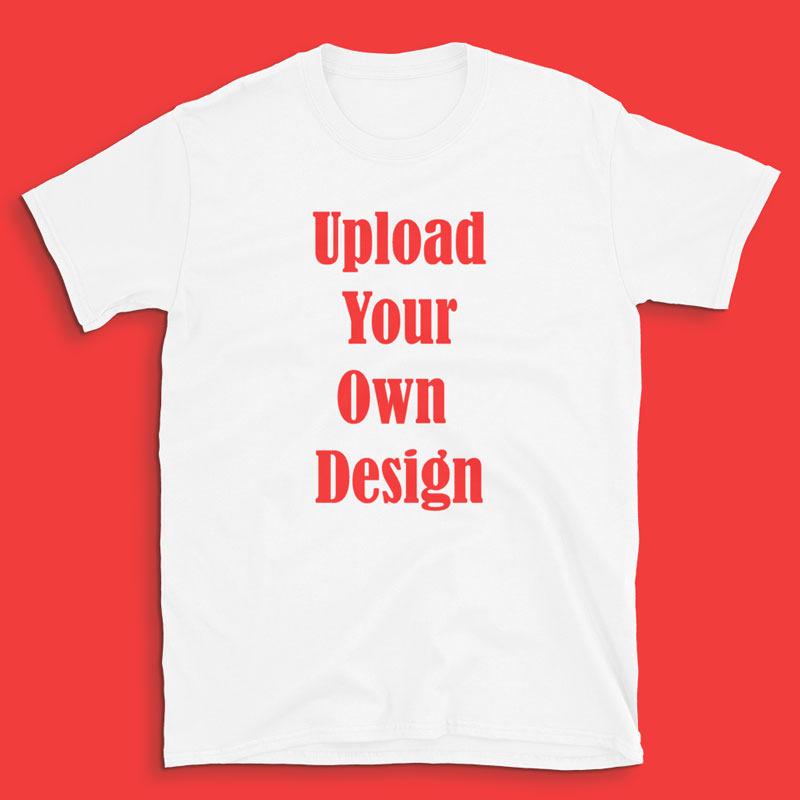 Men & Woman's Customizable T-Shirt 8