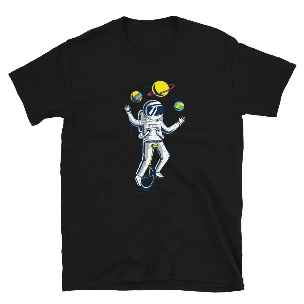 Astronaut Juggler T-Shirt 4