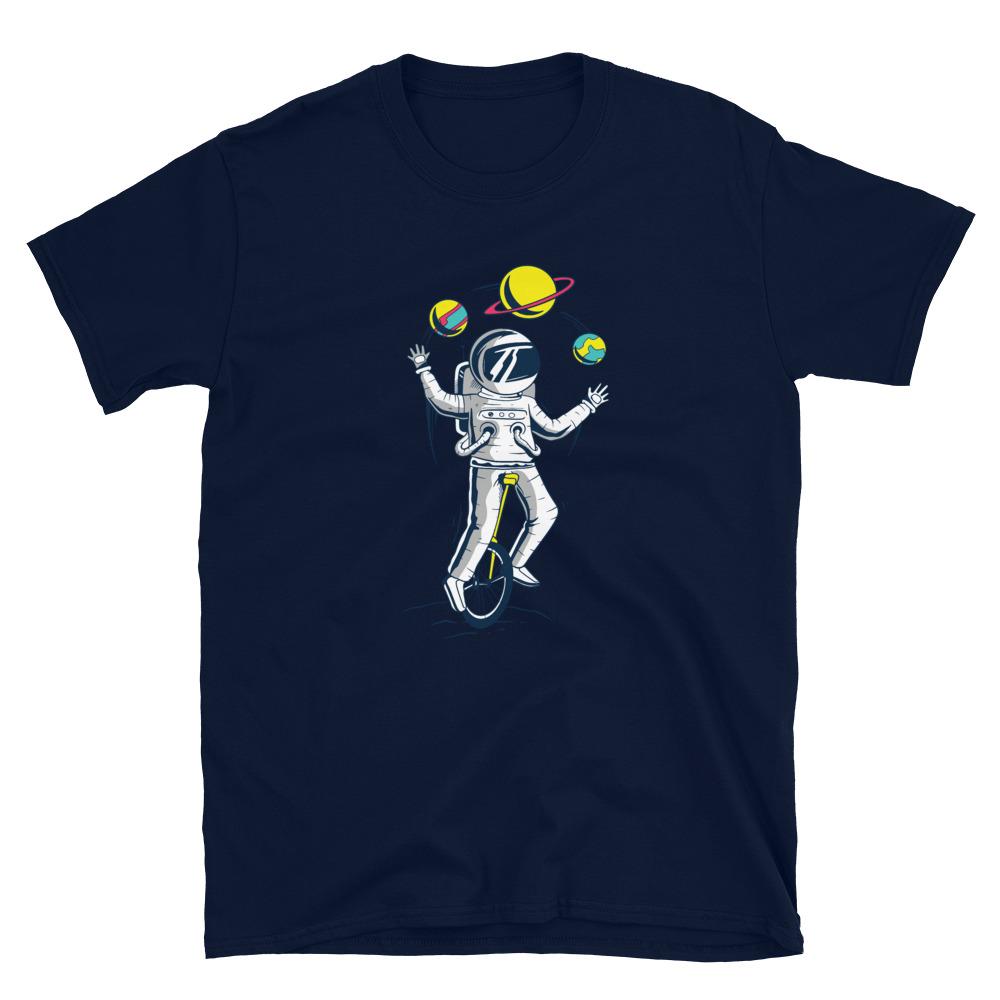 Astronaut Juggler T-Shirt 5