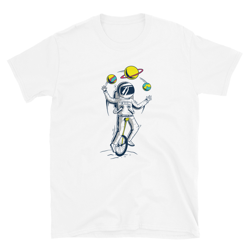 Astronaut Juggler T-Shirt 3