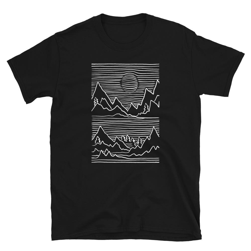 Mountains 3D T-Shirt 3