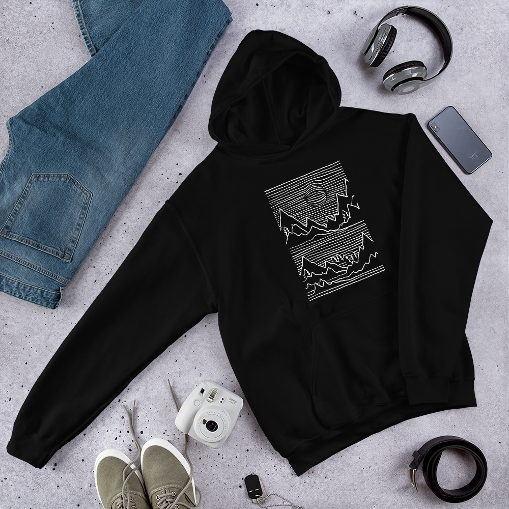 Mountains 3D - Hoodie 6