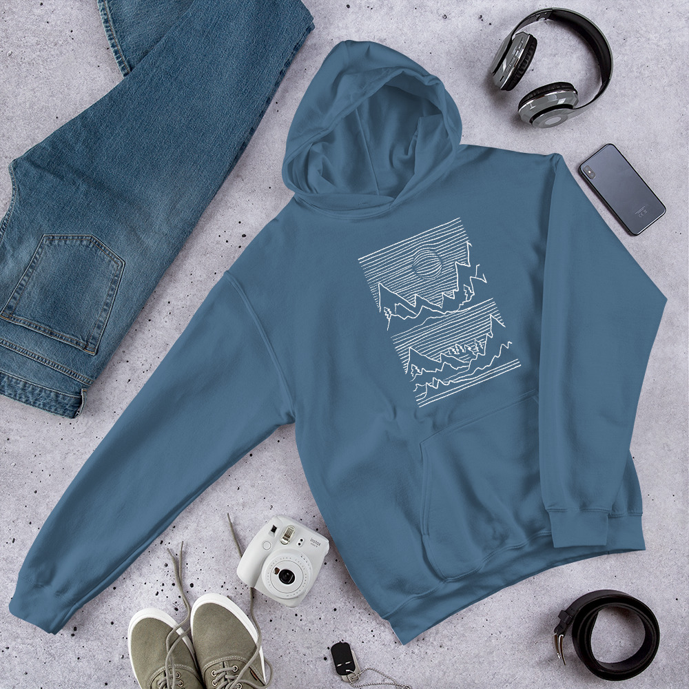 Mountains 3D - Hoodie 3