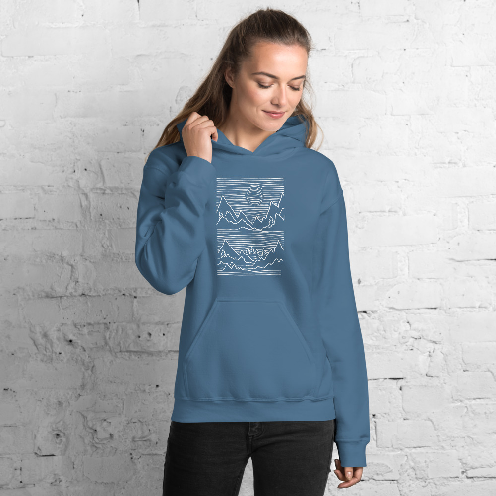 Mountains 3D - Hoodie 5