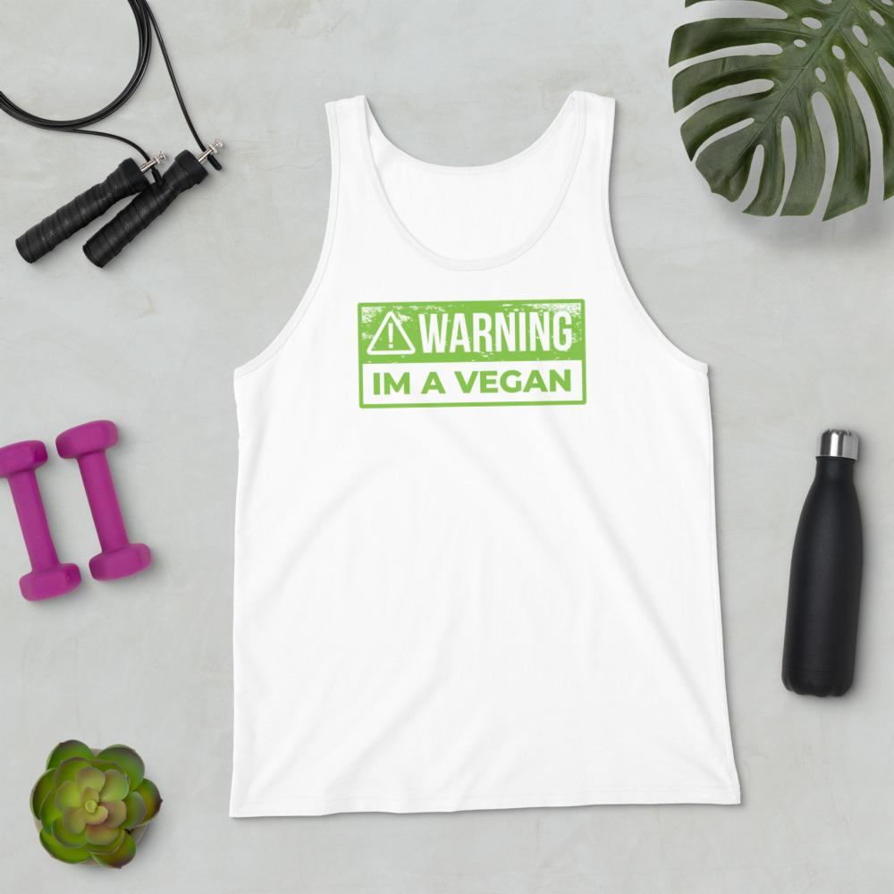Warning Vegan - Tank Top 5