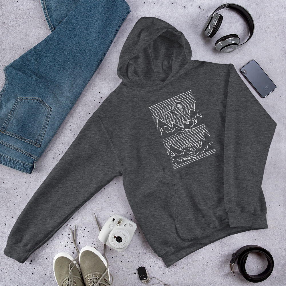 Mountains 3D - Hoodie 7