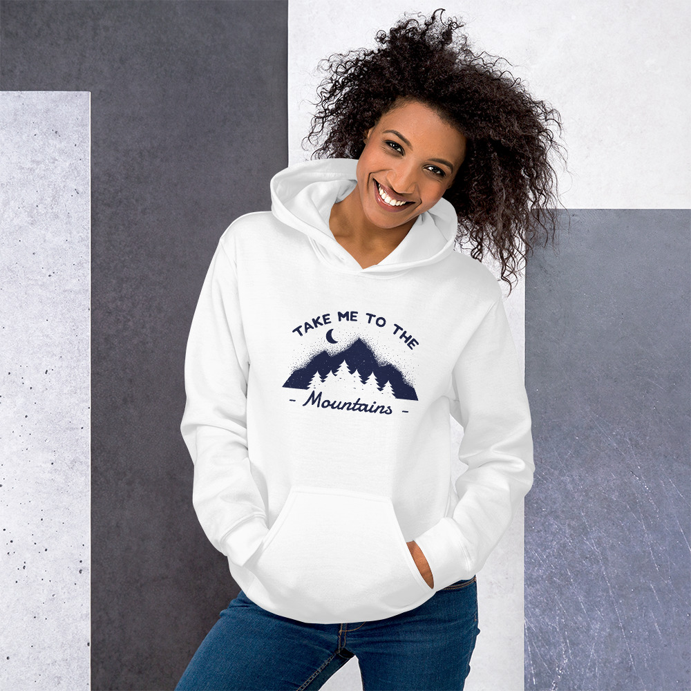 Take me to the Mountains - Hoodie 4