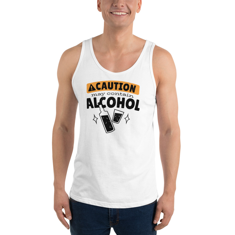 May Contain Alcohol - Tank Top 4