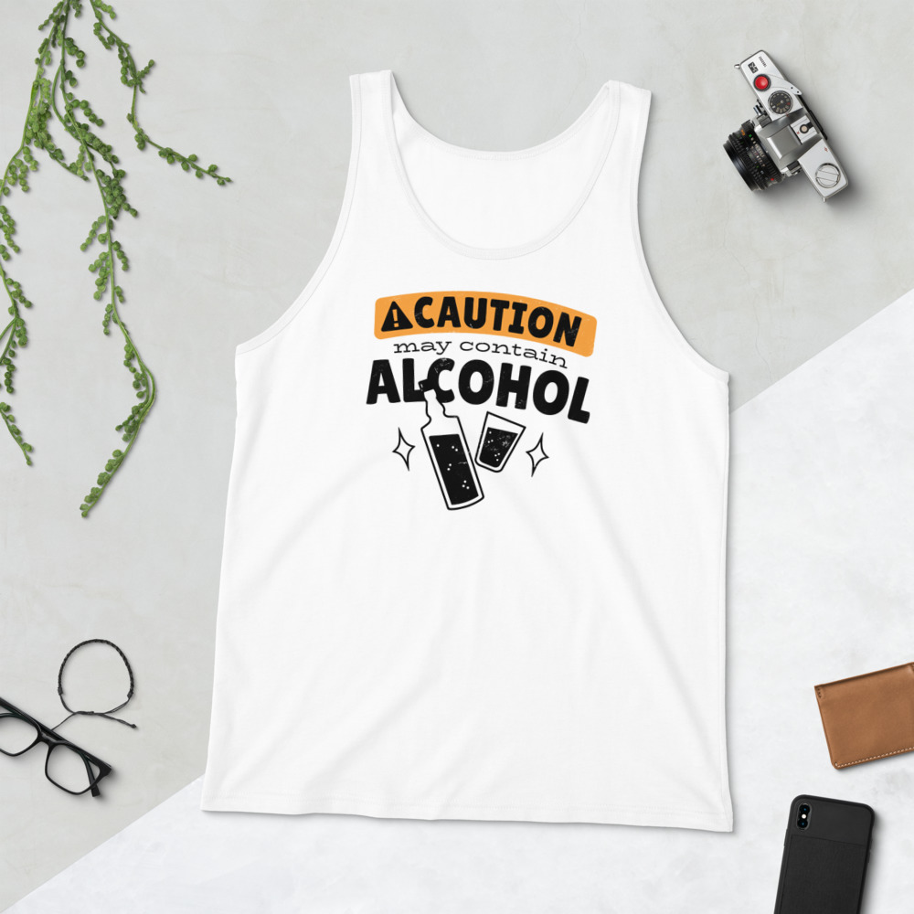 May Contain Alcohol - Tank Top 3