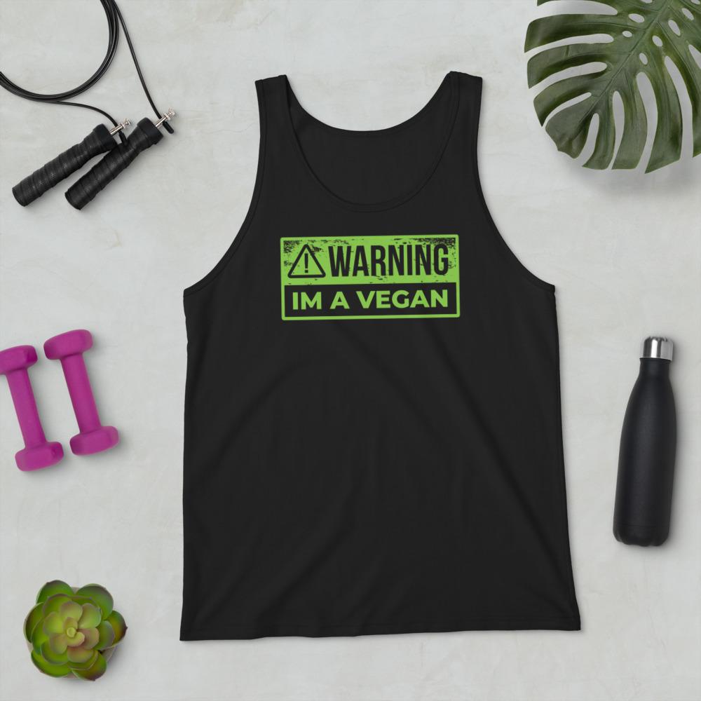 Warning Vegan - Tank Top 4