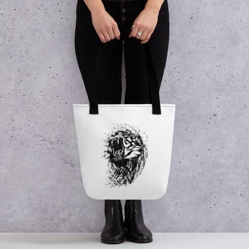 Tiger Roar Tote bag 2