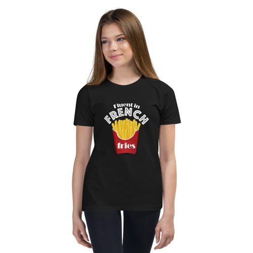 Fluent in French Fries - Kids T-Shirt 2
