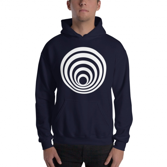 Fractals Tunnel – Hooded Sweatshirt
