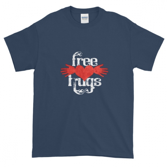 Free Hugs – heart – Mens Tee