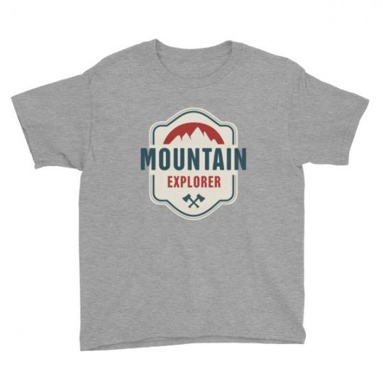 Mountain Explorer – Kids Tee