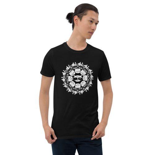 Cat Mandala - T-Shirt 5