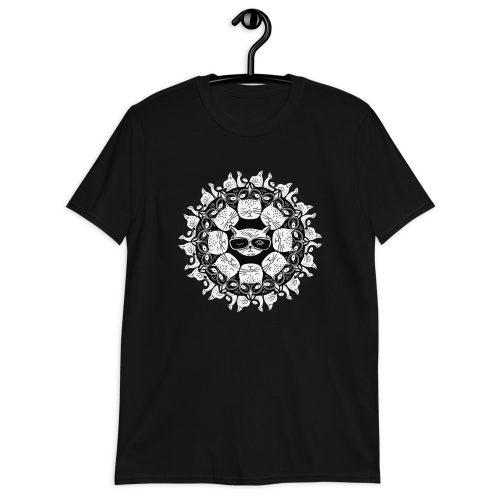 Cat Mandala - T-Shirt 6
