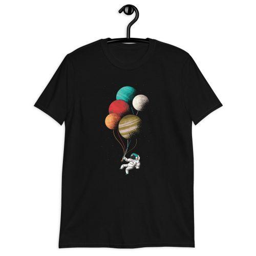 Astronaught Balloons T-Shirt 6