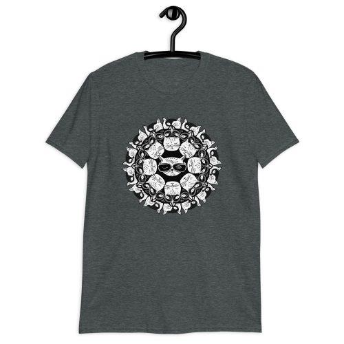 Cat Mandala - T-Shirt 8