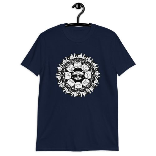 Cat Mandala - T-Shirt 7