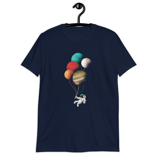 Astronaught Balloons T-Shirt 3