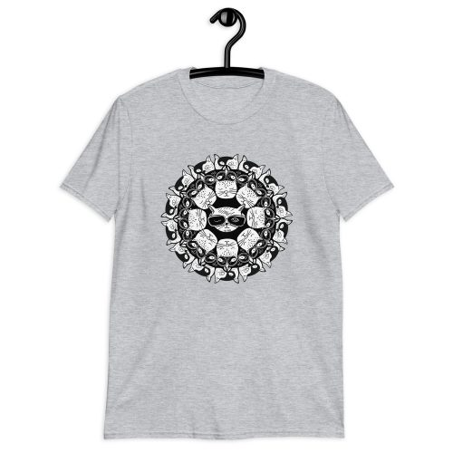Cat Mandala - T-Shirt 9