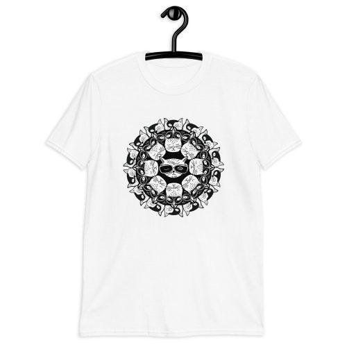 Cat Mandala - T-Shirt 3