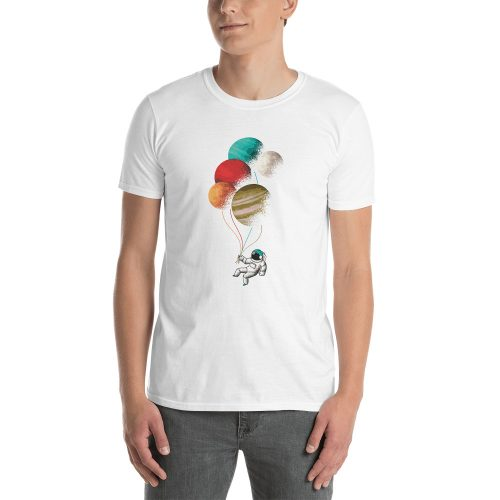 Astronaught Balloons T-Shirt 4