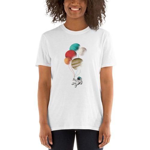 Astronaught Balloons T-Shirt 5