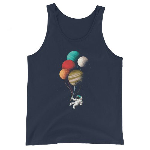 Astronaught Balloons Tank Top 6
