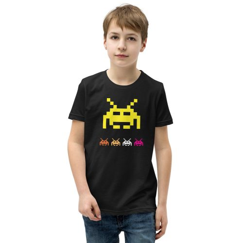 Space Invaders Kids T-Shirt 5
