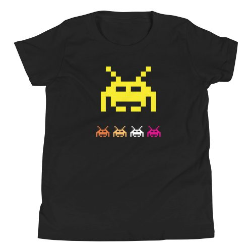 Space Invaders Kids T-Shirt 6