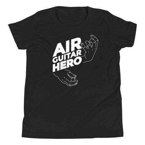 Air Guitar Hero Kids T-Shirt 3