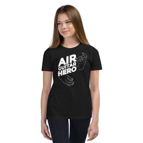 Air Guitar Hero Kids T-Shirt 4
