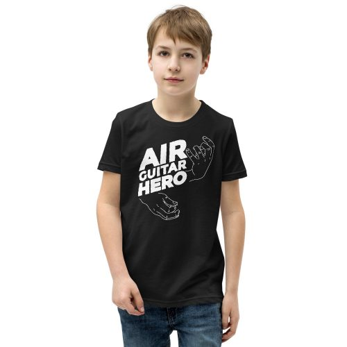 Air Guitar Hero Kids T-Shirt 5