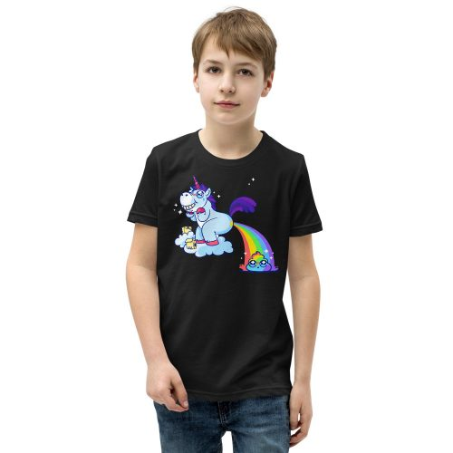 Unicorn Poop Kids T-Shirt 5
