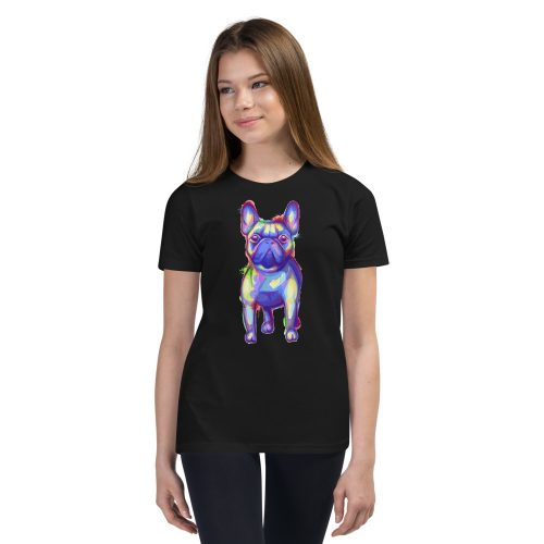 French Bulldog Kids T-Shirt 4