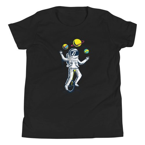 Astronaught Juggler Kids T-Shirt 6