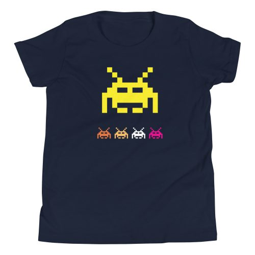 Space Invaders Kids T-Shirt 7