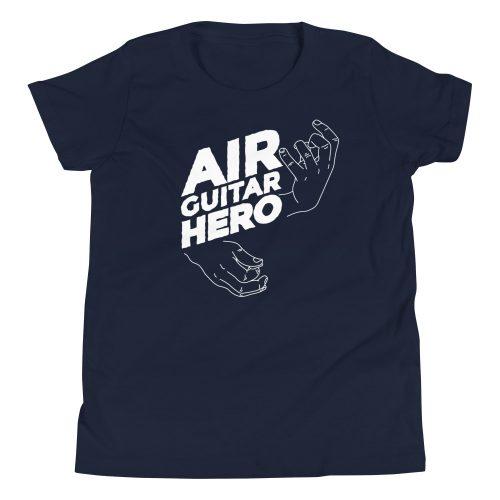 Air Guitar Hero Kids T-Shirt 6