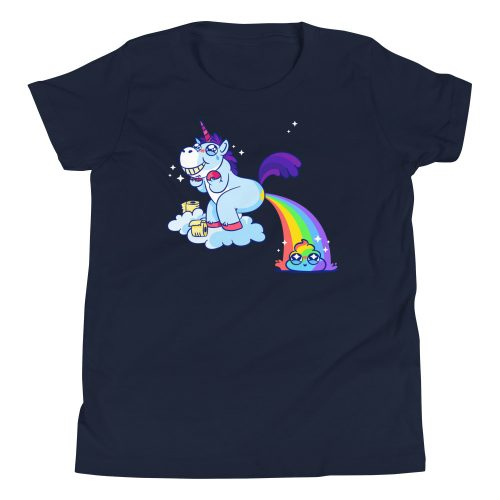 Unicorn Poop Kids T-Shirt 7