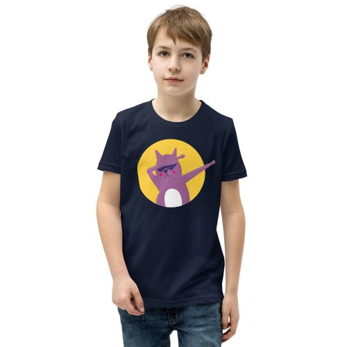 Cat Dab Kids T-Shirt 5