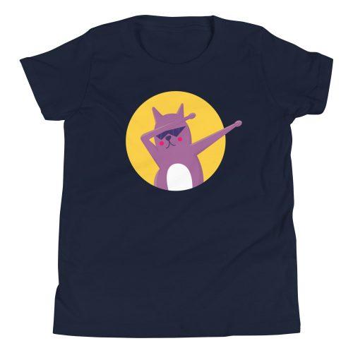 Cat Dab Kids T-Shirt 7