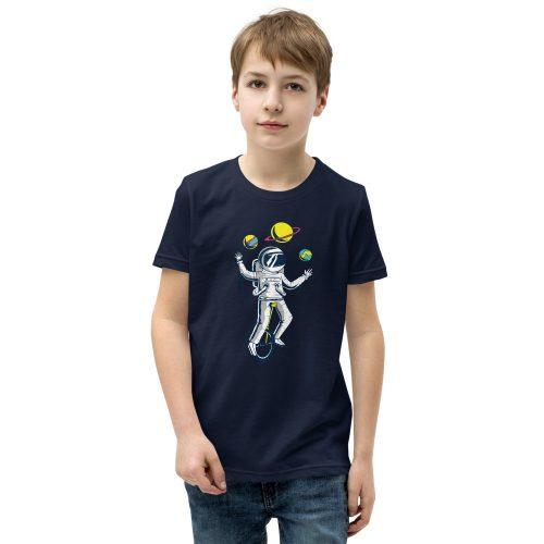 Astronaught Juggler Kids T-Shirt 5