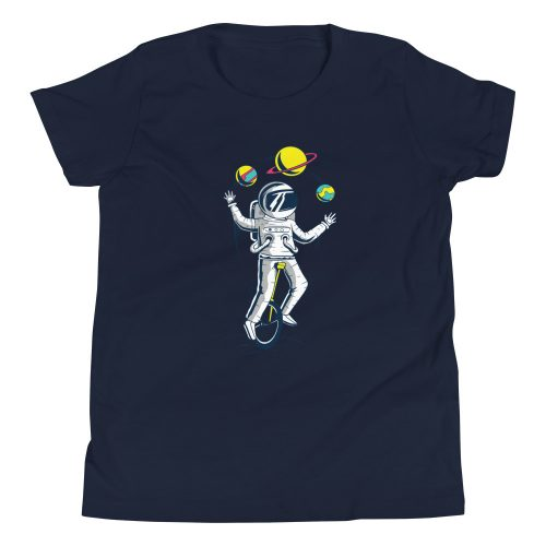 Astronaught Juggler Kids T-Shirt 7