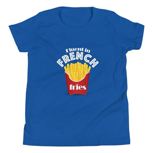 Fluent in French Fries - Kids T-Shirt 5