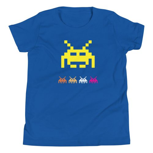 Space Invaders Kids T-Shirt 8