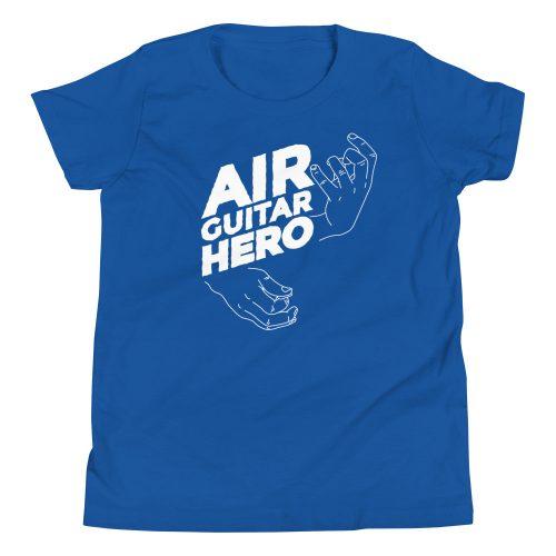 Air Guitar Hero Kids T-Shirt 7