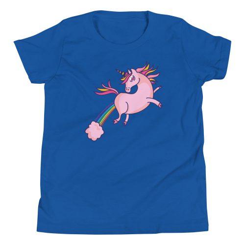 Unicorn Fart Kids T-Shirt 8