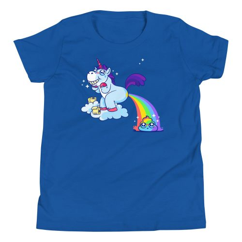 Unicorn Poop Kids T-Shirt 8
